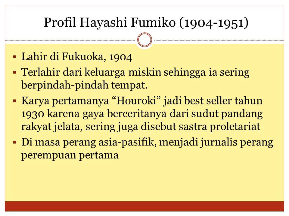 Profil Hayashi Fumiko (1904-1951)