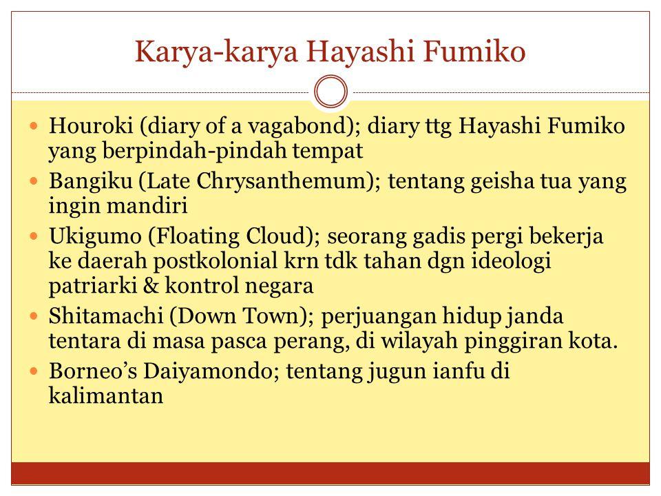 Karya-karya Hayashi Fumiko