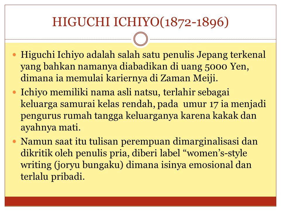 HIGUCHI ICHIYO(1872-1896)