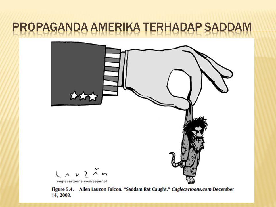 Propaganda amerika terhadap saddam