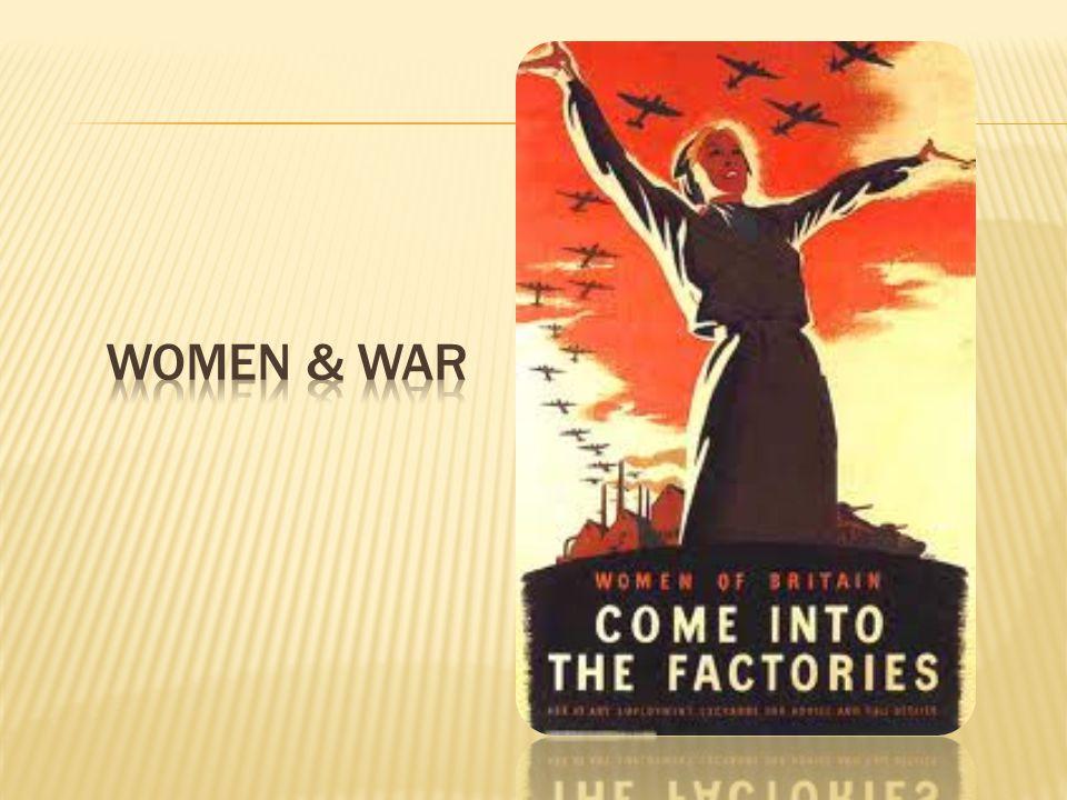 Women & war