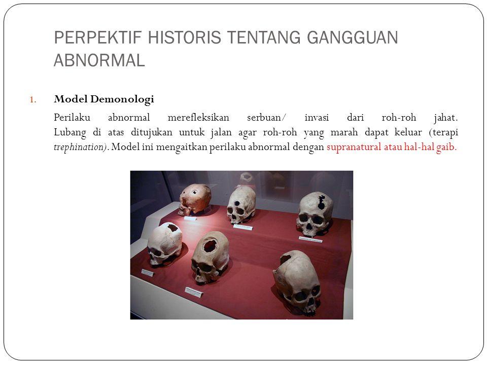PERPEKTIF HISTORIS TENTANG GANGGUAN ABNORMAL