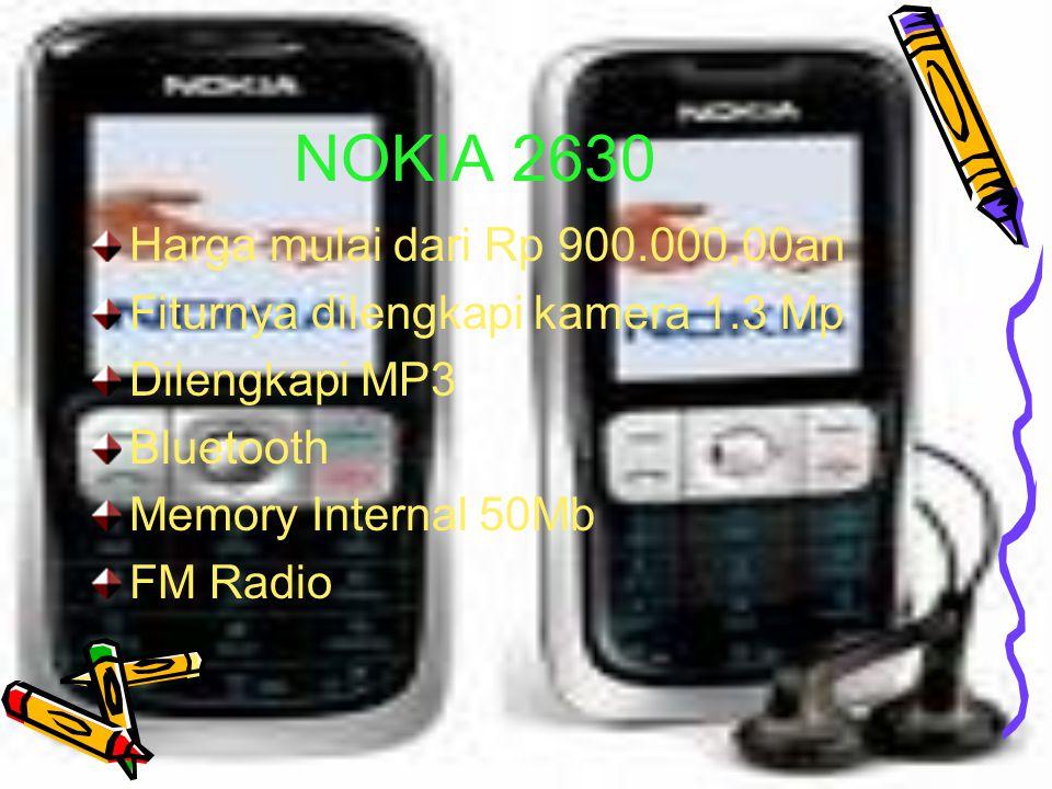NOKIA 2630 Harga mulai dari Rp 900.000,00an