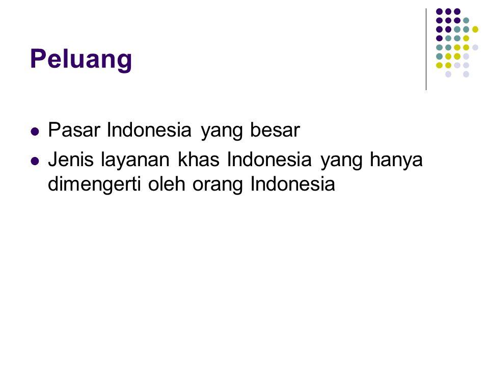 Peluang Pasar Indonesia yang besar