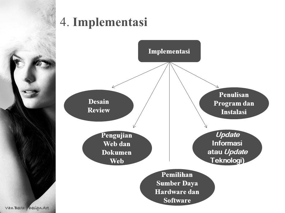 4. Implementasi Implementasi Penulisan Program dan Instalasi