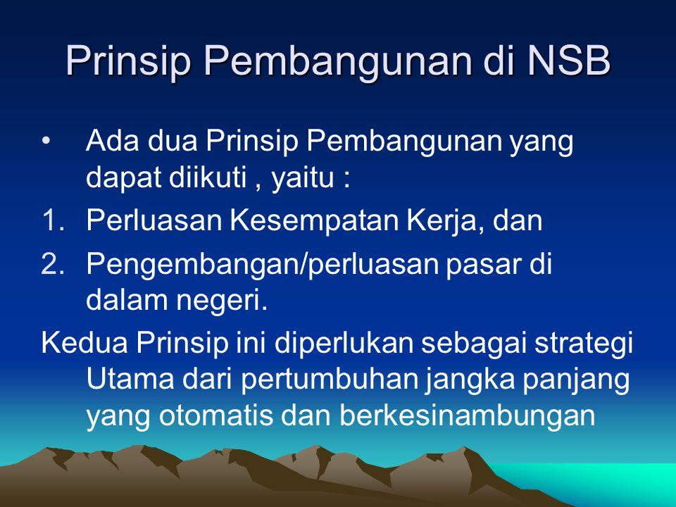 Prinsip Pembangunan di NSB