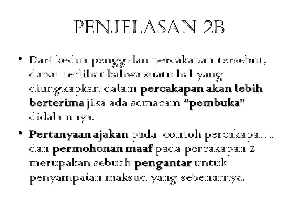 Penjelasan 2b