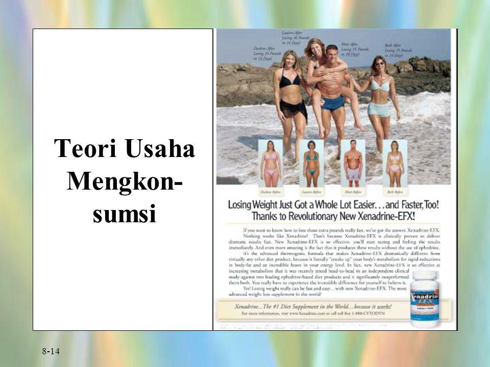 Teori Usaha Mengkon-sumsi