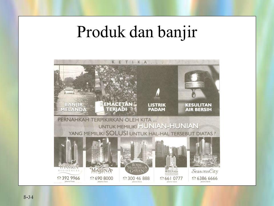 Produk dan banjir