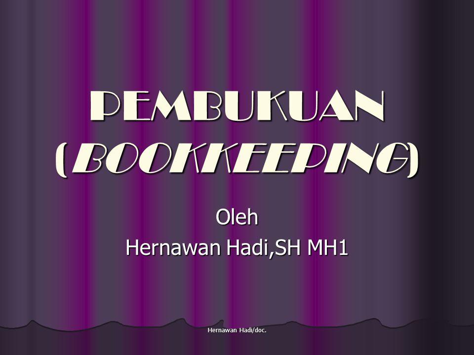 PEMBUKUAN (BOOKKEEPING)