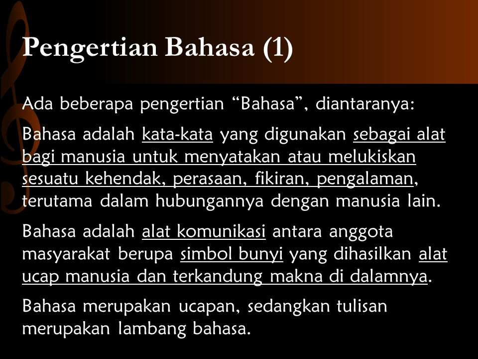 Pengertian Bahasa (1)