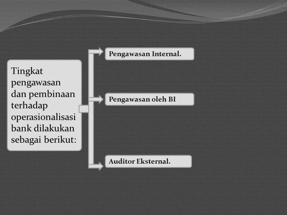 Tingkat pengawasan dan pembinaan terhadap operasionalisasi