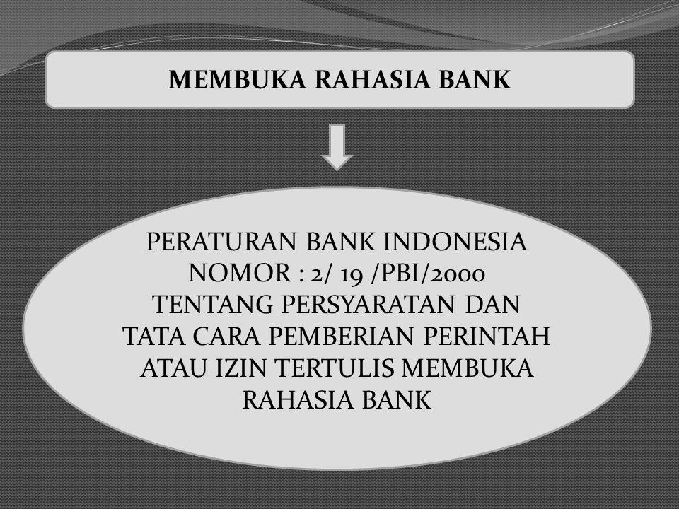 MEMBUKA RAHASIA BANK