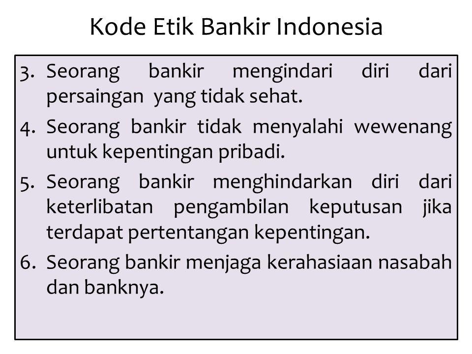 Kode Etik Bankir Indonesia