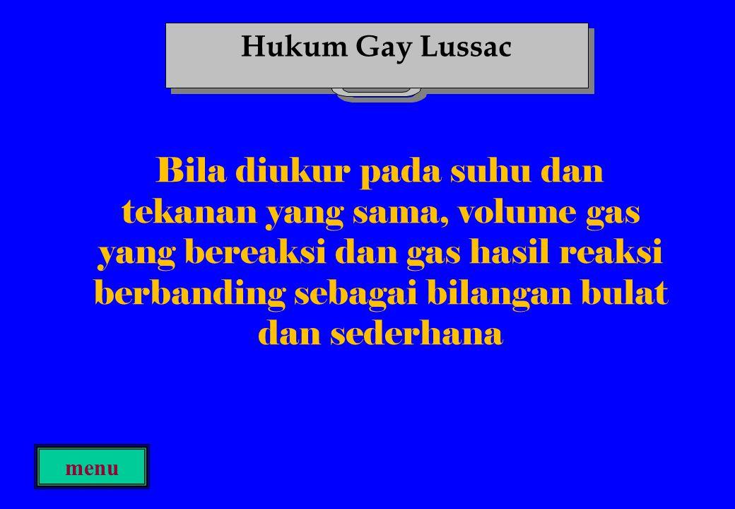 Hukum Gay Lussac
