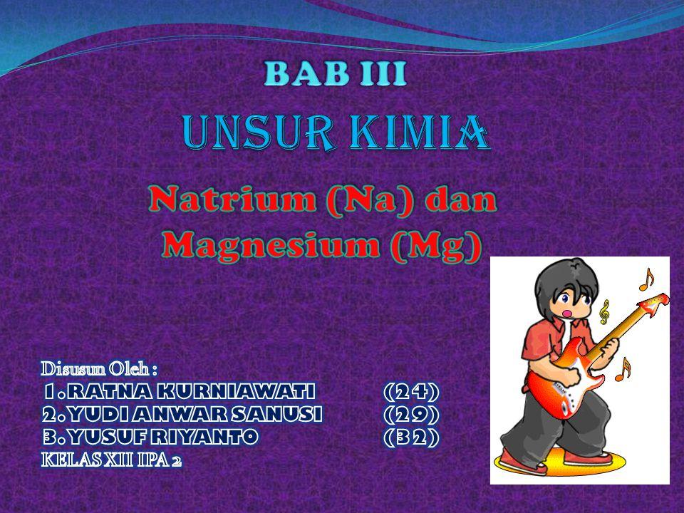 Natrium (Na) dan Magnesium (Mg)