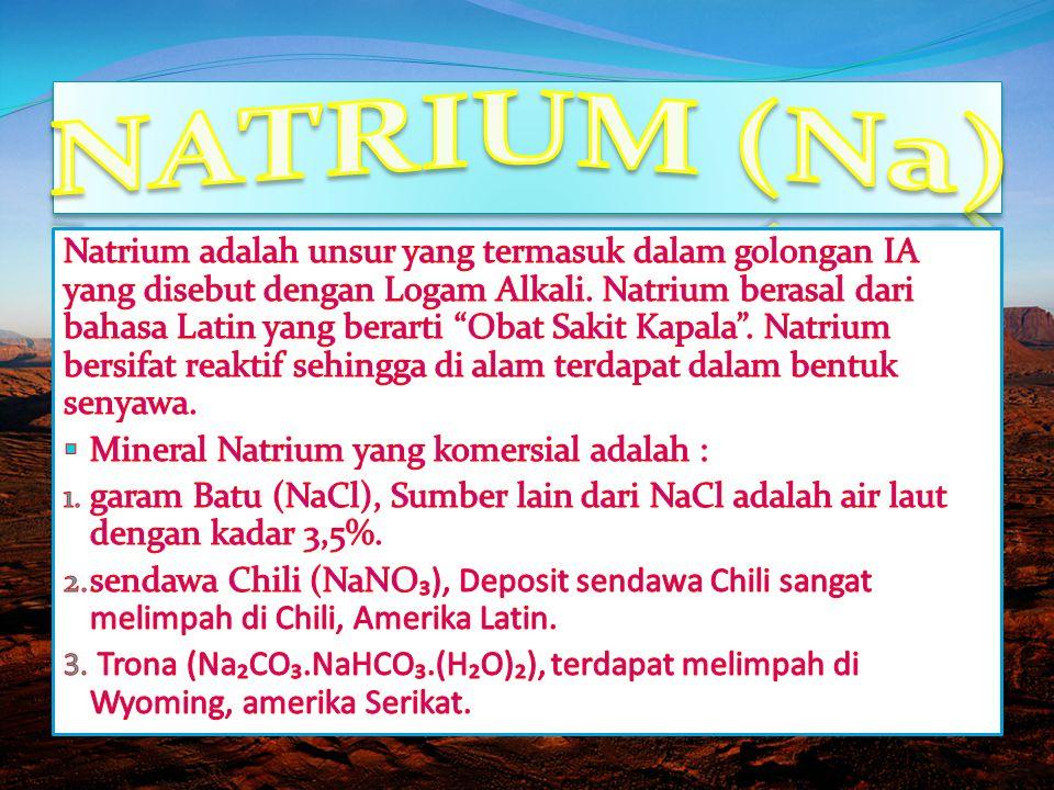 NATRIUM (Na)
