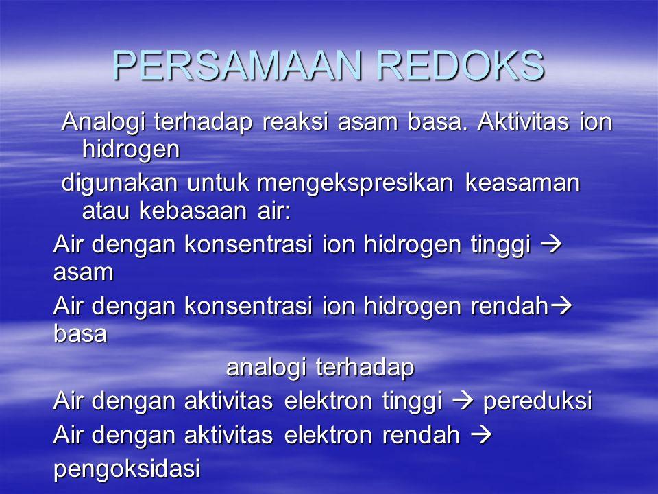 PERSAMAAN REDOKS