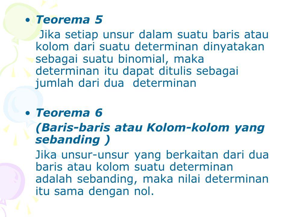 Teorema 5