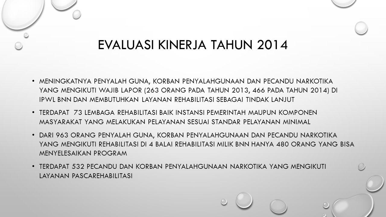 Evaluasi Kinerja Tahun 2014