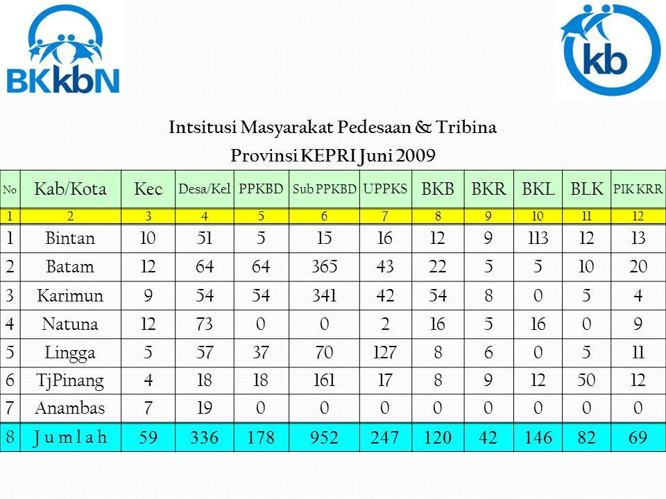 Intsitusi Masyarakat Pedesaan & Tribina