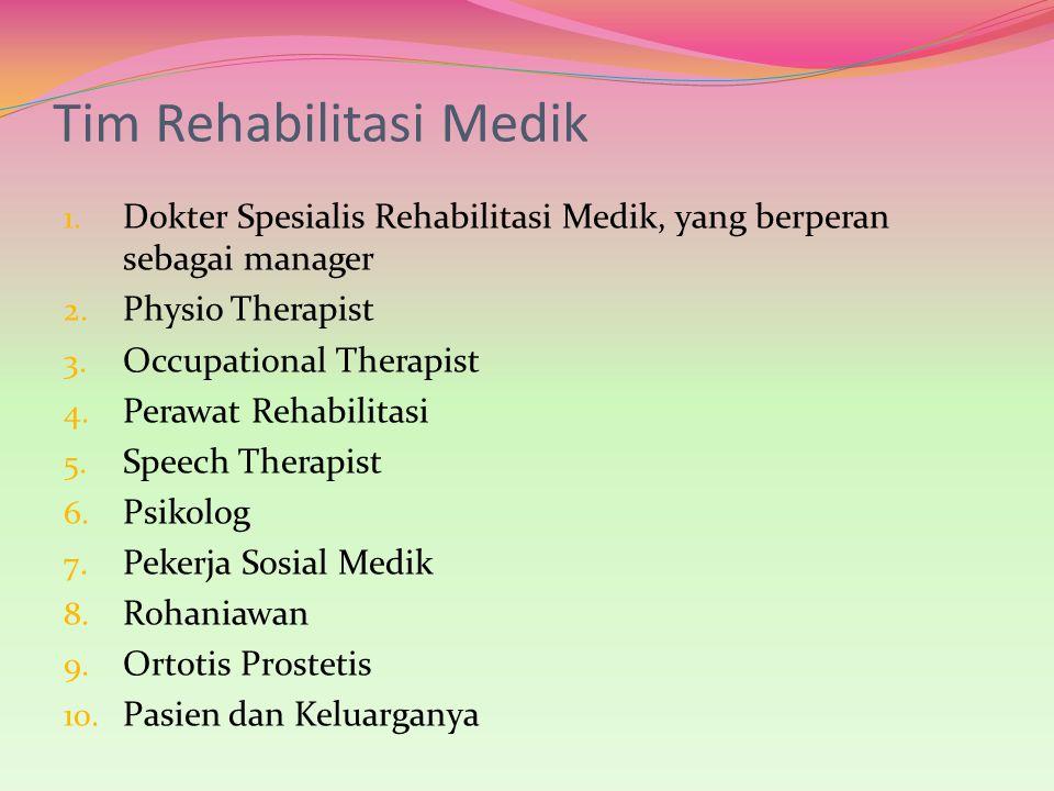 Tim Rehabilitasi Medik