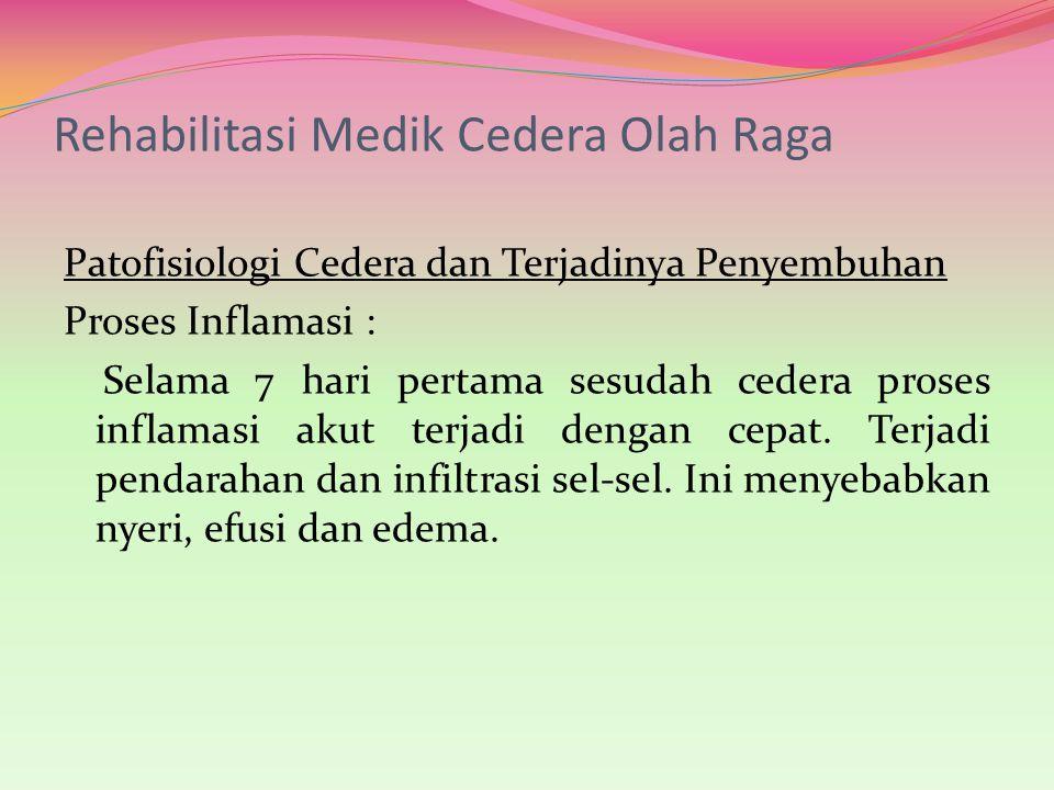 Rehabilitasi Medik Cedera Olah Raga