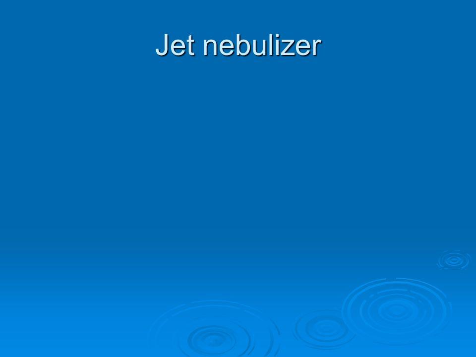 Jet nebulizer
