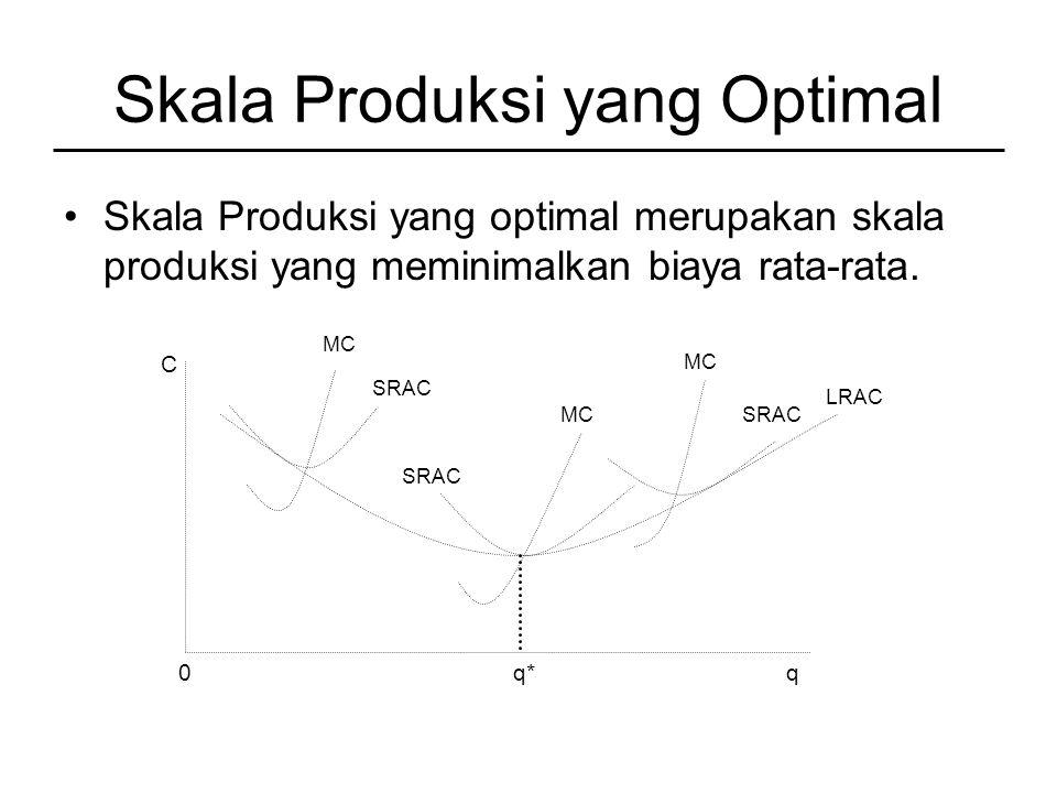 Skala Produksi yang Optimal