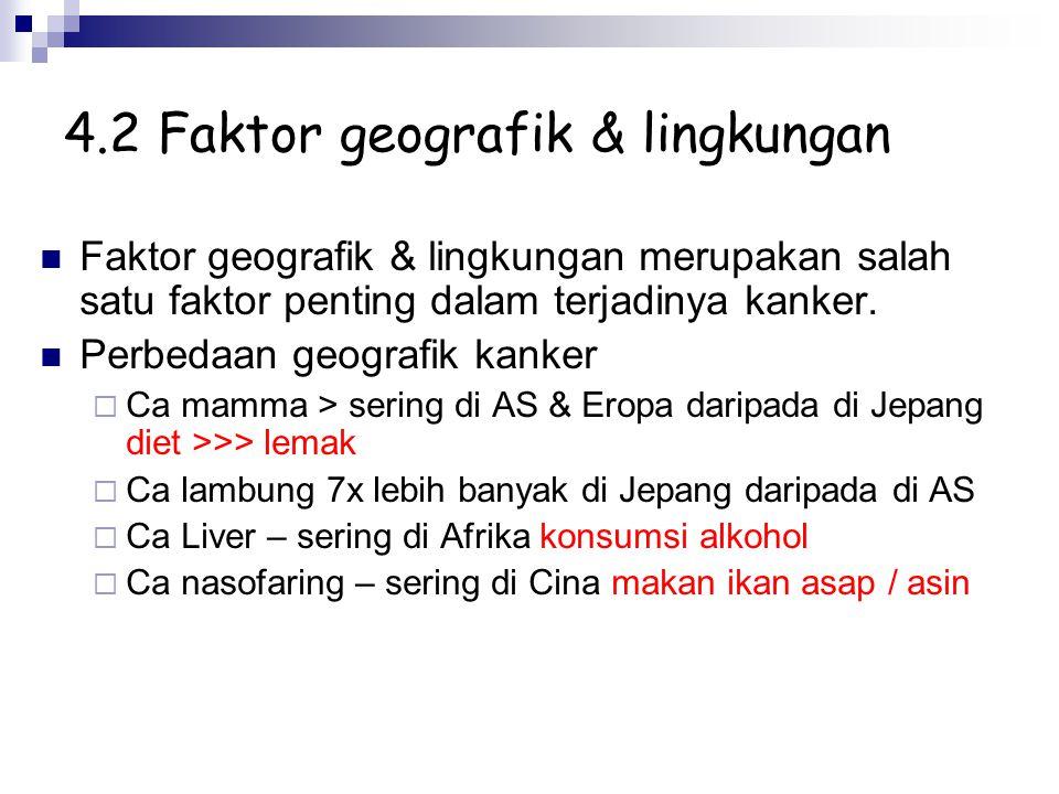 4.2 Faktor geografik & lingkungan