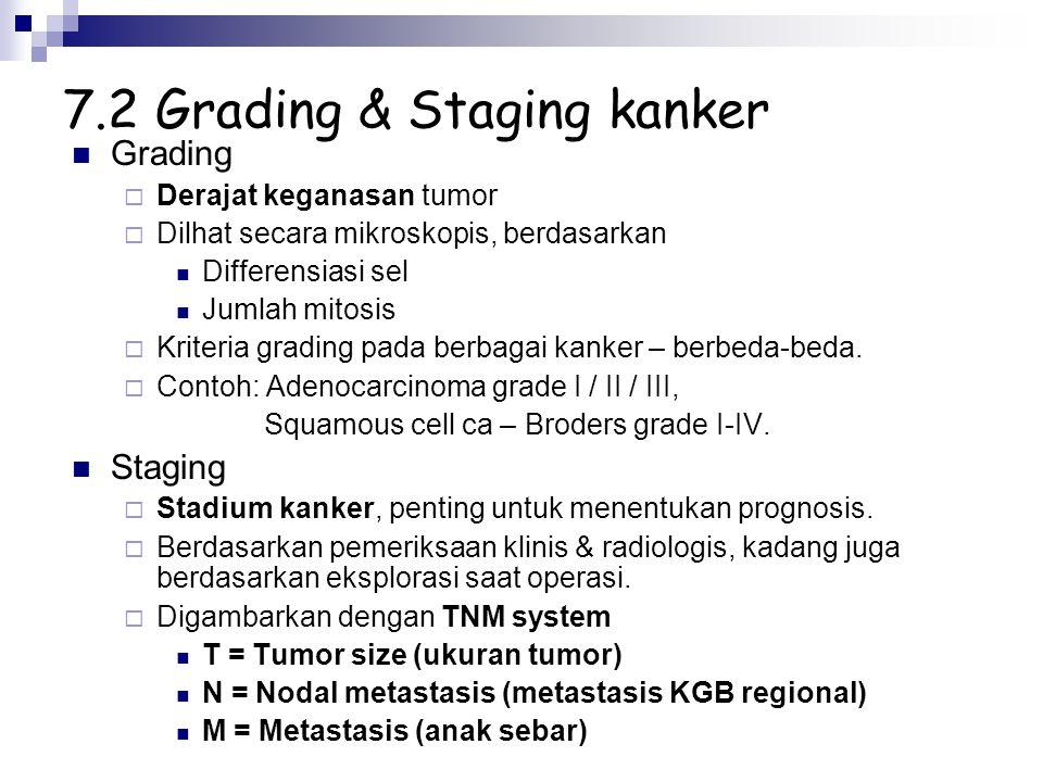 7.2 Grading & Staging kanker