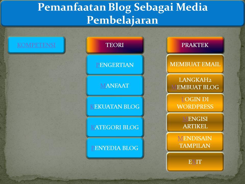 Pemanfaatan Blog Sebagai Media Pembelajaran