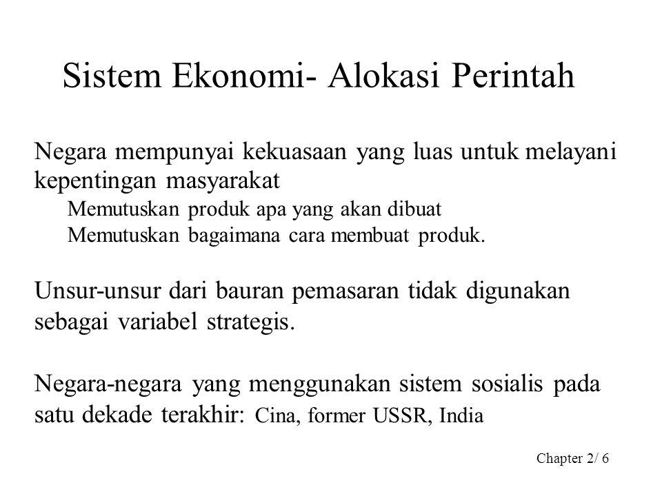 Sistem Ekonomi- Alokasi Perintah