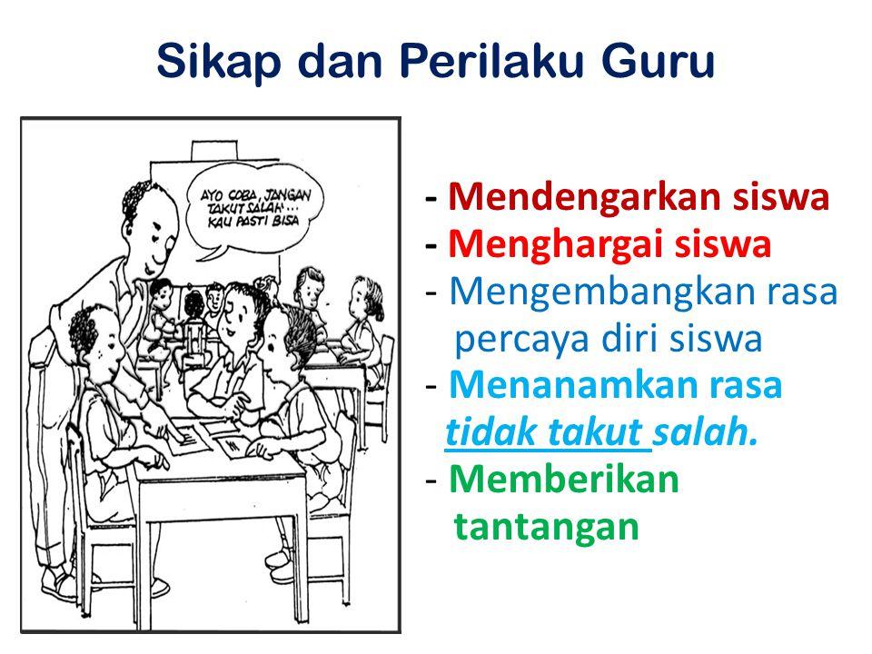 Sikap dan Perilaku Guru