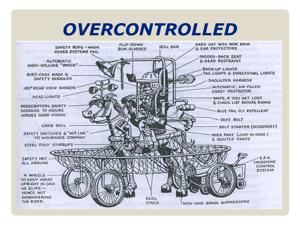 OVERCONTROLLED