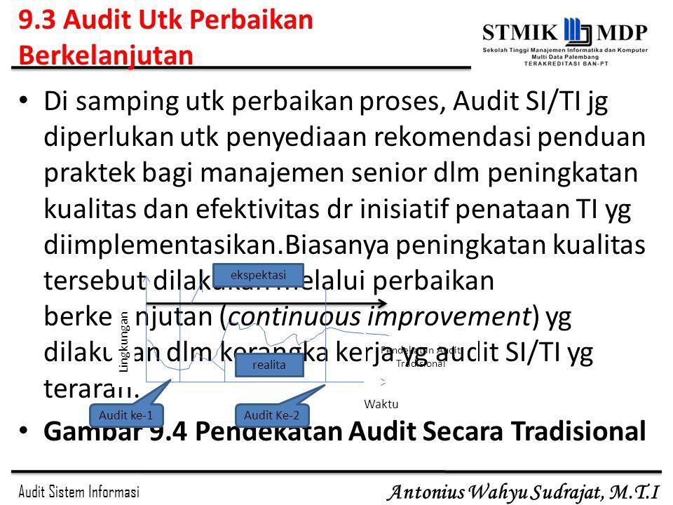 9.3 Audit Utk Perbaikan Berkelanjutan