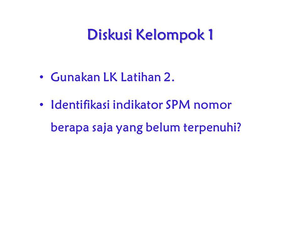 Diskusi Kelompok 1 Gunakan LK Latihan 2.