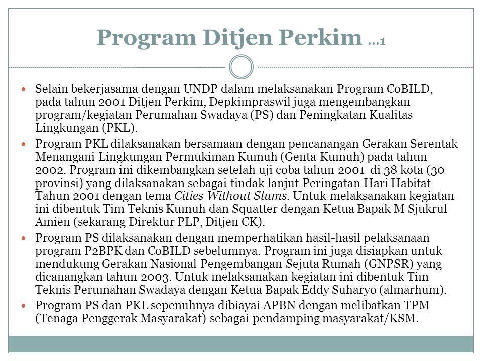Program Ditjen Perkim ...1
