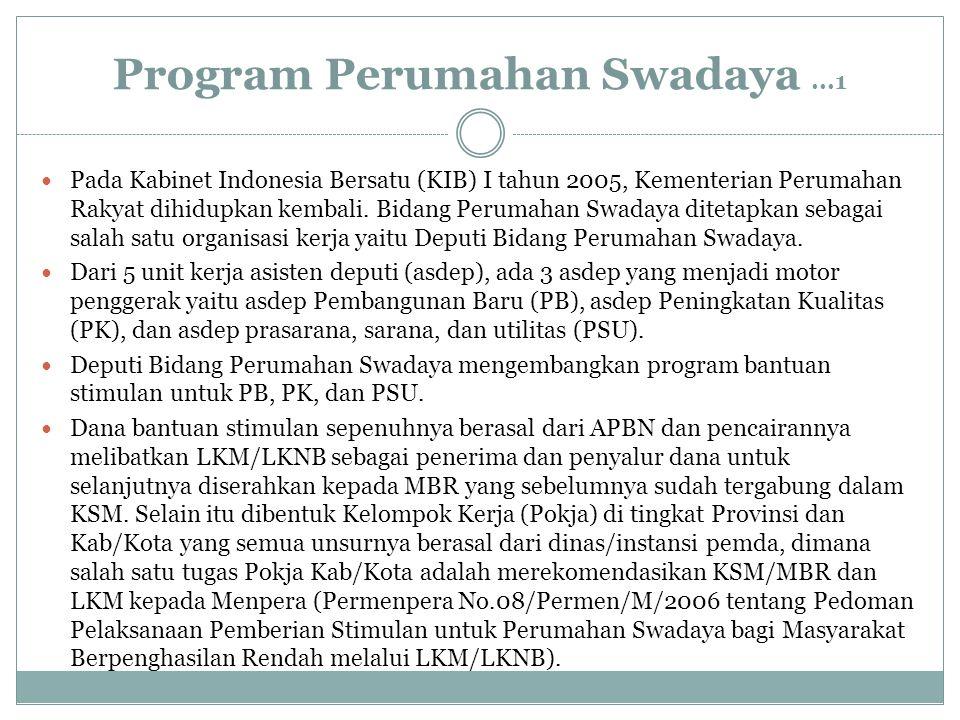 Program Perumahan Swadaya ...1