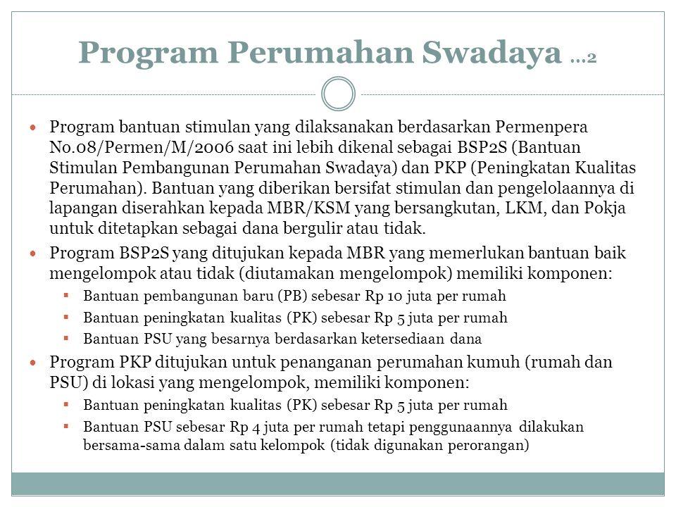 Program Perumahan Swadaya ...2