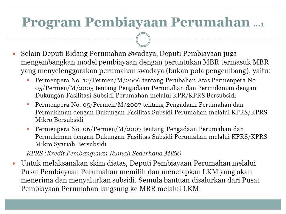 Program Pembiayaan Perumahan ...1