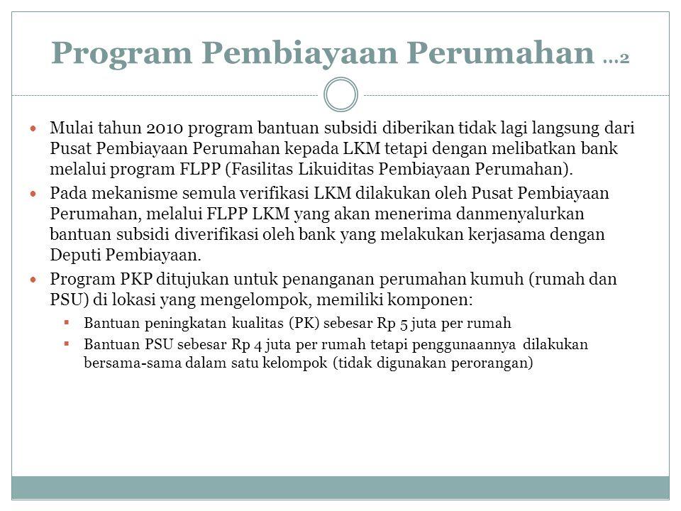 Program Pembiayaan Perumahan ...2