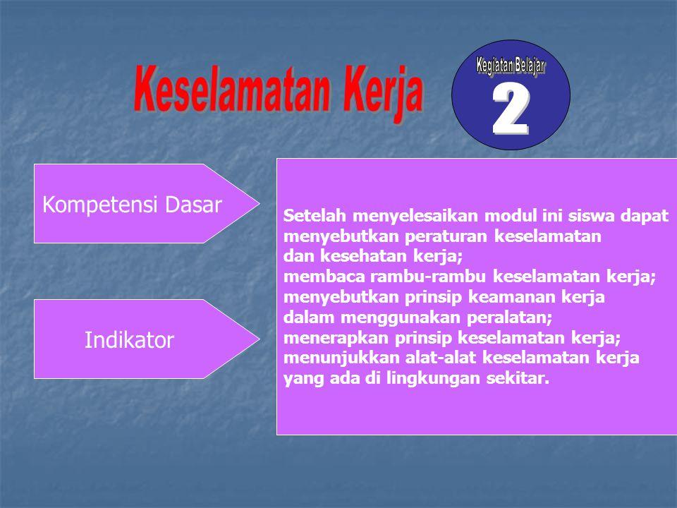 2 Kompetensi Dasar Indikator