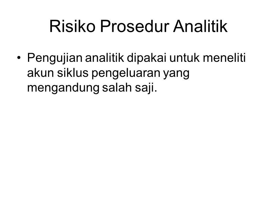 Risiko Prosedur Analitik