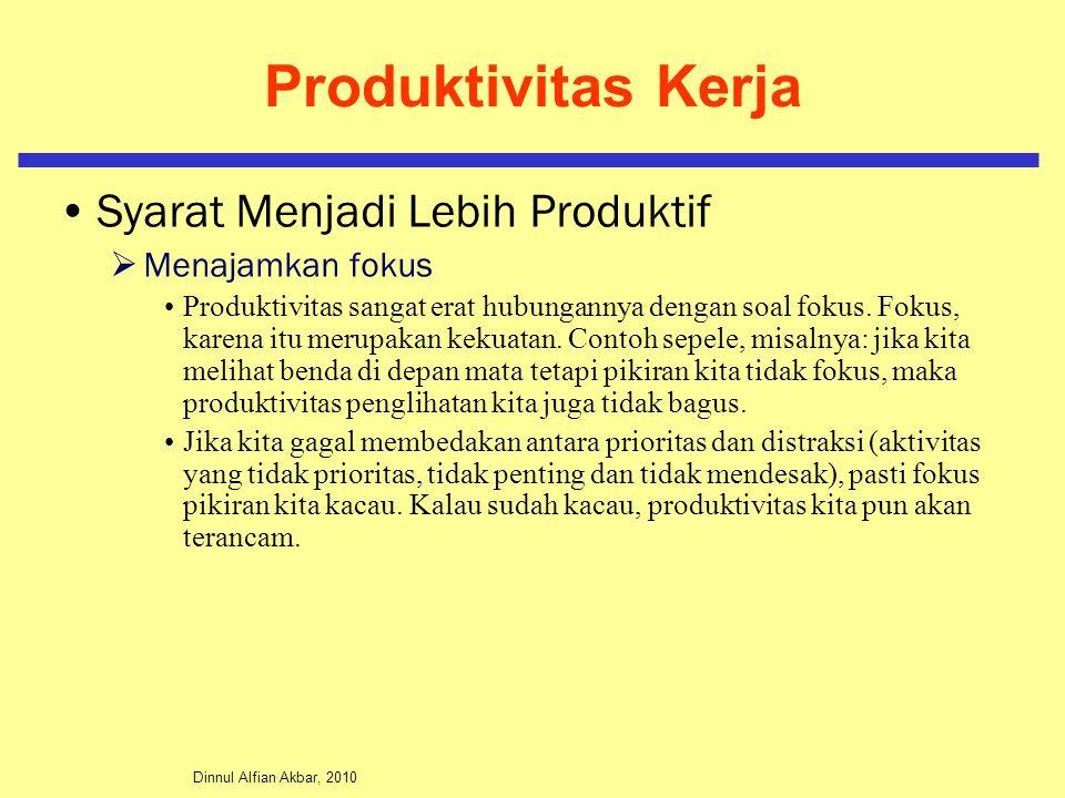 Produktivitas Kerja Syarat Menjadi Lebih Produktif Menajamkan fokus