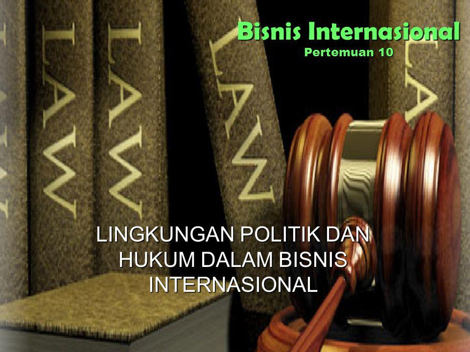 Bisnis Internasional Pertemuan 10
