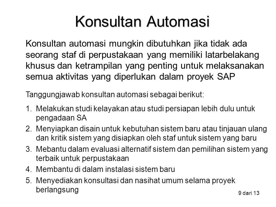 Konsultan Automasi