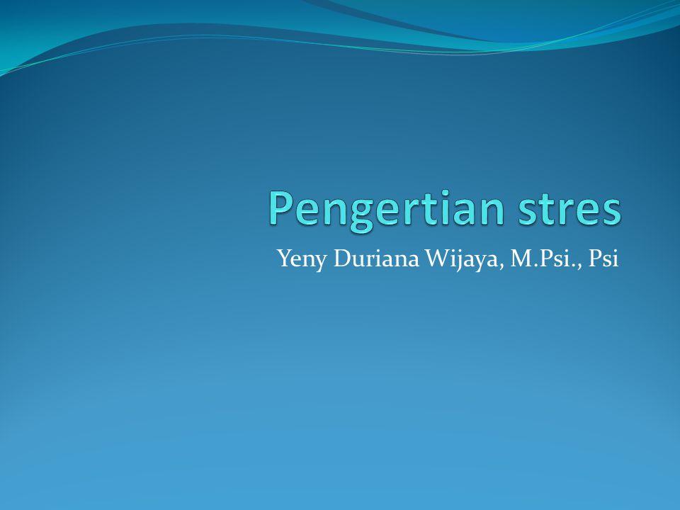 Yeny Duriana Wijaya, M.Psi., Psi