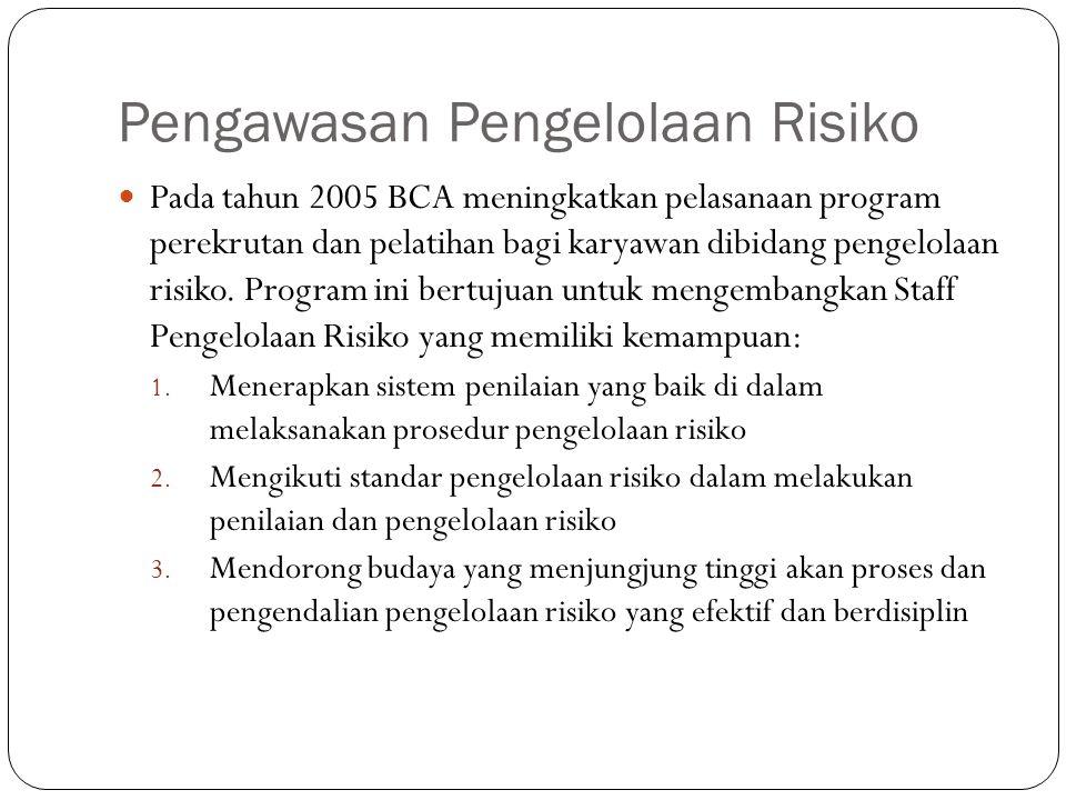 Pengawasan Pengelolaan Risiko
