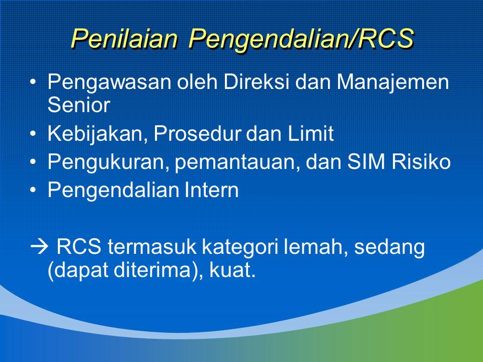 Penilaian Pengendalian/RCS